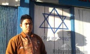 bendera israel di papua