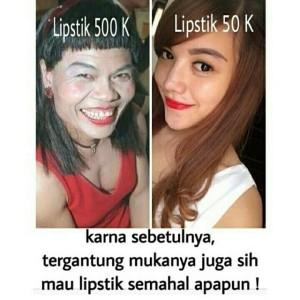 meme lipstik