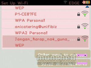 """@hawahocca : Semalam lepak downtwn nampak nama user wifi ni hahahahaah kelakar """"jgn harap kau nak guna"""" lol"""