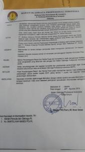 rekomendasi BOPI piala presiden