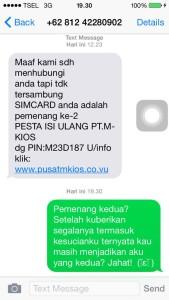 sms penipuan lucu
