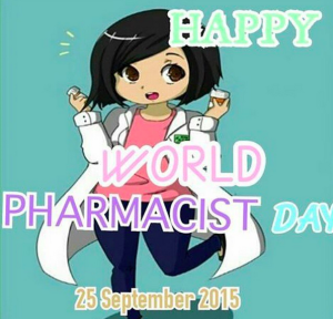 yay_nurulSelamat hari farmasis sedunia untuk semua calon apoteker muda Indonesia