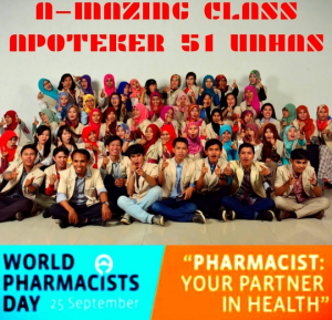 "JUNED: ""Selamat Hari Apoteker Sedunia 🙌🎉 ""Pharmacist, your partner in health"" #trustmeitworks"""