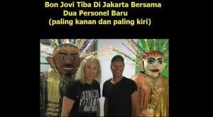 Personel Bon Jovi dan Ondel ondel