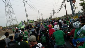 @kemerdekaan2015 Menuju Gelora Bung Tomo Surabaya