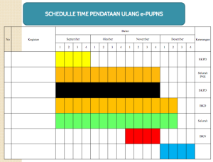 jadwal timetable epupns