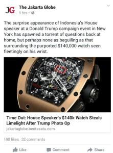 jam tangan setya novanto
