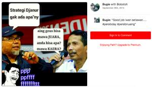 komentar netizen