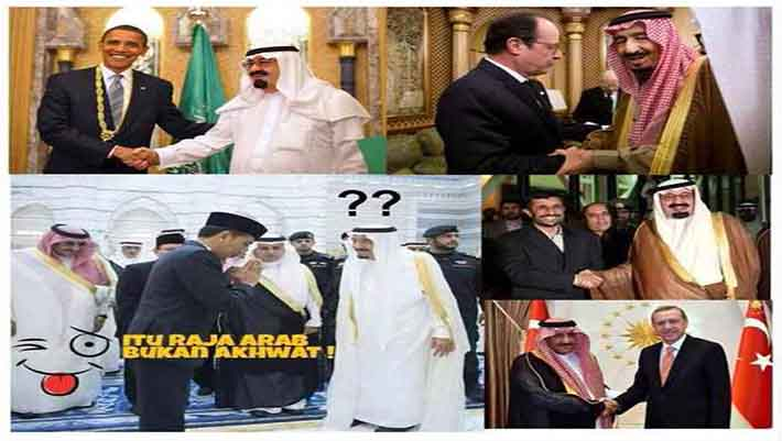 jokowi salaman raja arab