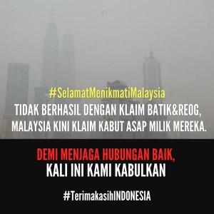 @kujisa 50m50 minutes ago @PartaiSocmed @budisujatmiko . #TerimakasihINDONESIA #SamaSamaMalaysia #SelamatMenikmatiMalaysia 👋😌