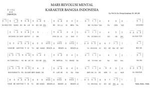 mars revolusi mental
