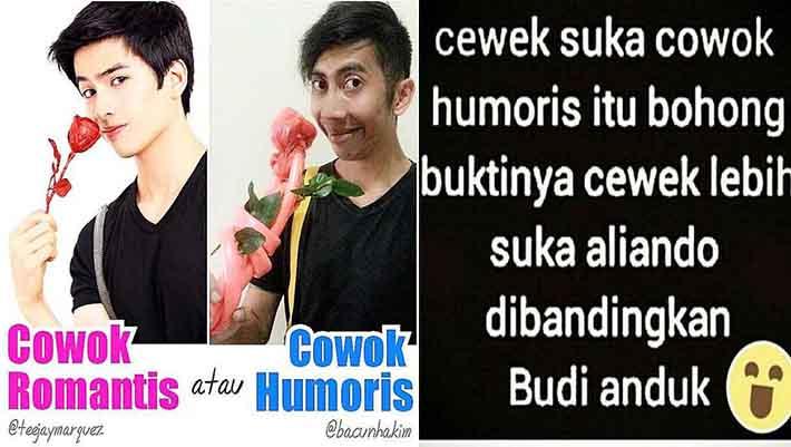 meme cowok ganteng