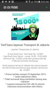 tarif gojek indonesia