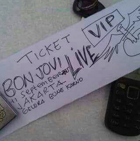 @indokaryajogja  its my life not #BonJovi life. #jogja enjoy aja