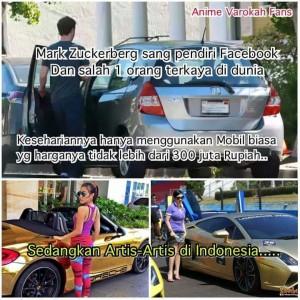 zuckerberg dan artis indonesia