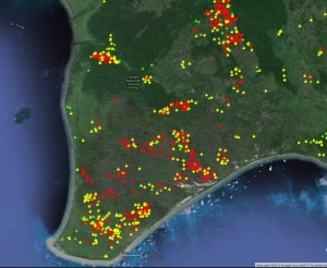 @Sutopo_BNPB 5h5 hours ago View translation Hotspot 1 minggu terakhir di Taman Nasional Tanjung Puting. Hutan tempat konservasi orangutan pun dibakar. Ayo cegah