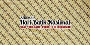 @BekasiUrbanCity : Selamat Hari Batik Nasional. Bangga menggunakan produk dalam negeri. Jangan lupa pakai batik ya hari ini. 😊