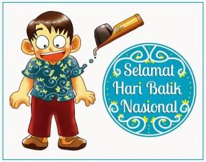 @herikoyer: Kita jadikan Batik sebagai identitas bangsa. Selamat Hari Batik Nasional