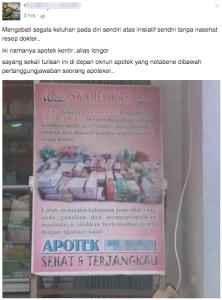 dokter swamedikasi apoteker