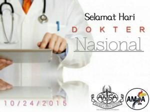 @AMSAunpar 15h15 hours ago View translation Jas putih dan senantiasa tersenyum sepenuh jiwa Selamat Hari Dokter Nasional