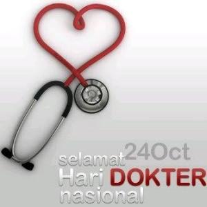 @unnie_rhiez 7m7 minutes ago Selamat Hari Dokter Nasional untuk rekan sejawat sekalian. Semoga semakin sukses dunia dan akhirat. aamiin. :-)