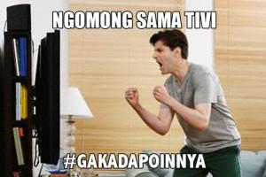 """@Sindiran_SUPER 30/09/2015 20:00:01 WIB """"di saat ngobrol sudah terlalu mainstream."""" LOL #gakadapoinnya"""""""