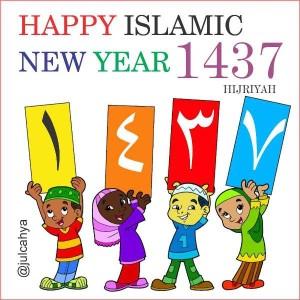 @julcahya 9h9 hours ago Selamat Tahun Baru Islam 1437 Hijriyah