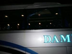 02:53 Sejumlah kendaraan alami kerusakan akibat aksi anarkis supporter sepak bola di Jl. MT. Haryono.