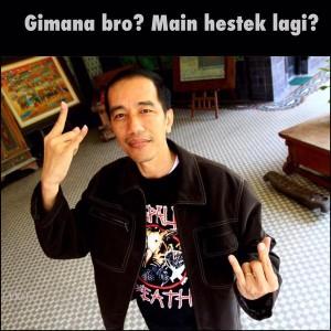 @PolitikAktual Ekspresi Pak @Jokowi pagi ini melihat Rupiah menguat sampai Rp 14.200 dan IHSG tembus 4.400