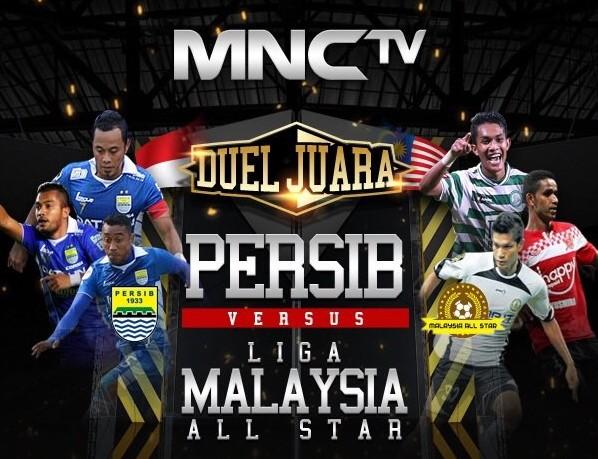 live persib malaysia all star