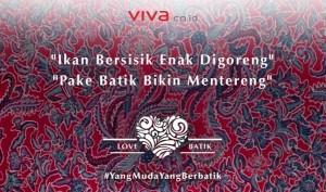 @VIVAcoid Sep 28 Indonesia punya batik, kita juga ikut #BanggaBerbatik Yuk,kompak memakai batik di Hari Batik Nasional,2 Oktober,2015