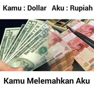 @enayonghwa90 Kamu : Dollar Aku : Rupiah Kamu melemahkan aku wkwk