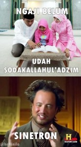 meme sinetron lucu