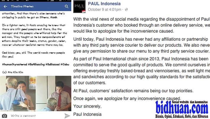 paul indonesia