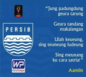 """Ranggi Setia: """"Jung Padungdung Geura Tarung , Sing Meunang Ku Cara Satria ! #PersibDay"""""""
