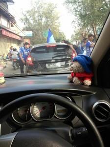 @advaswesty  15m15 minutes ago  Kasian juga mobil Plat b ini :( di palak nampaknya tadi siang @infobandung