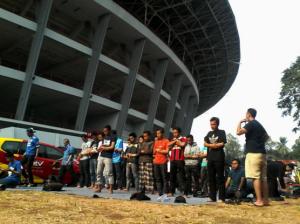 @BobotohID 6h6 hours ago Hayu urang du'akeun #PersibJuara ulah poho solat Bobotoh !!!