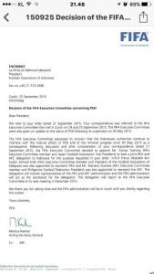 @pssi__fai 8h8 hours ago View translation Surel (Surat Elektronik) atau E-mail dari FIFA kpd PSSI terkait utusan mereka yg menyatakan ingin dtg ke Indonesia