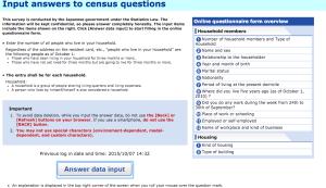 sensus penduduk di jepang