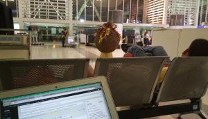 Bandara Ninoy Aquino di Ruang Tunggu Sebelum Check In