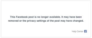 akun facebook hoax