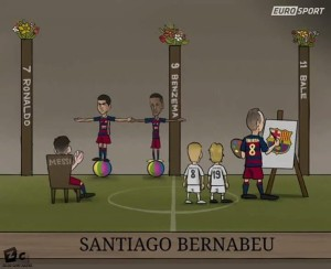 #ElClasico (Via: @ZEZO_CARTOONS )