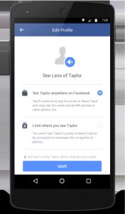 Batasi foto, video atau update status yang mantan pasangan akan melihat.