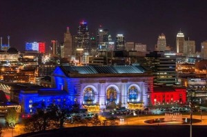 @pquaife 2h2 hours ago This is pretty awesome. Kansas City skyline showing support for France.