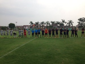 Uji coba PBR vs Porto Malang di Lapangan ASIFA malang
