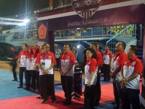 @zainul_munas 10h10 hours ago View translation Menpora @imam_nahrawi hadir di kick off Piala Sudirman. Lengkap didampingi Ketum&Sekjen BOPI dan Ketua Tim Transisi