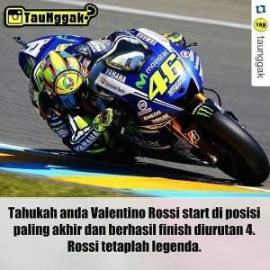 twitCINTA @tweetcintaplus 08/11/2015 22:02:41 WIB Terbaikkk #Repost @taunggak with @repostapp ・・・ Rossi tetap menjadi legenda 😍 Tap 2x (klik LIKE) dan tag teman-tem…