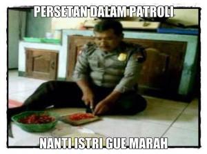 @FaktaKeren: Ada polisi yg galak saat dinas namun takut istri