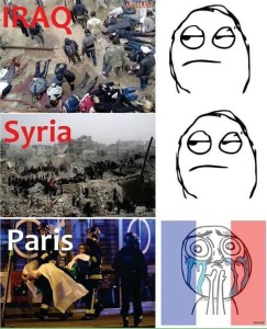 @vogueszap 43m43 minutes ago This is so accurate.. #PrayForSyria