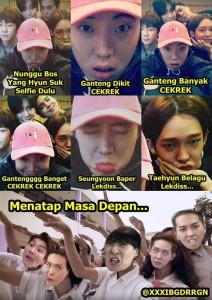 @xxxibgdrrgn Dec 9 View translation #MemeWinner Ganteng Dikit Cekrek......